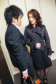 Marina Matsumoto - Marina Matsumotogives warm Asian blow job on cam - Picture 1