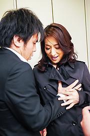 Marina Matsumoto - Marina Matsumotogives warm Asian blow job on cam - Picture 2