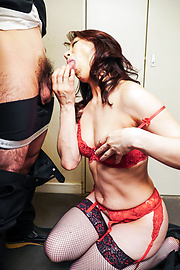 Marina Matsumoto - Marina Matsumotogives warm Asian blow job on cam - Picture 7