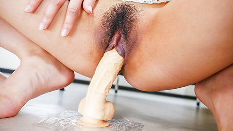 Maika - Japanese girls enjoying harsh Asian masturbating session  - Picture 4