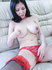 Sofia Takigawa - Great masturbation with Asian dildo along hotSofia Takigawa - Picture 9