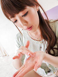Rei Furuse - Naughty Asian blowjobs by kinky Rei Furuse  - Picture 12