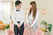 Big tits Maki Koizumi masturbating on cam  Photo 1