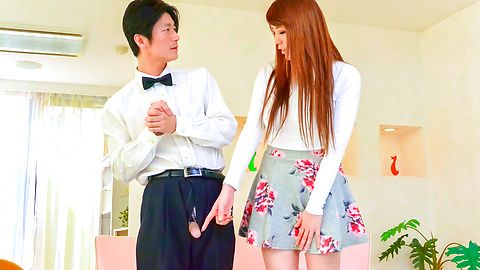 Asian dildo to please naughty Maki Koizumi