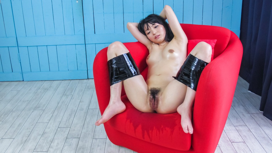 Rough pussy play for hot Asian milf Konoha