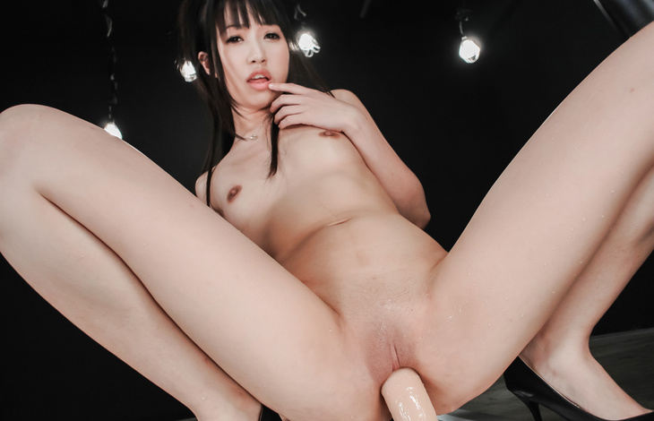 Asian milf with small tits plays nasty with her new toy  hot asian, sexy asian, asian fuck