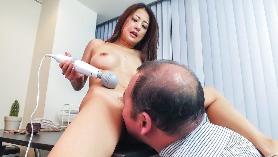 Perfect Asian tits babe goes nasty during masturbation