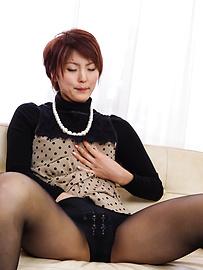 Saori - ซาโอริก็ยุ่งกับสั่น Milf หีเธอ -  5 รูปภาพ