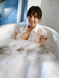 Azusa Nagasawa - Lovely and horny Azusa Nagasawa all wet as she gets playful - Picture 7