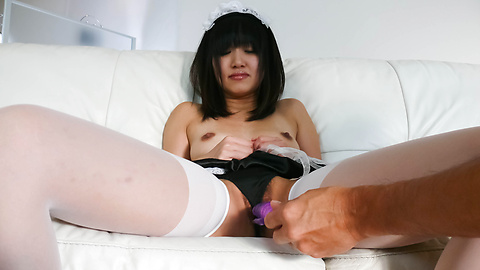 Kotomi Asakura - Sexy Kotomi Asakura is fingered and squirts - Picture 10