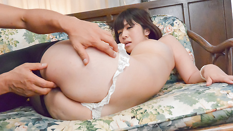 Wakaba Onoue - Wife in heats gers random stranger to fuck ehr hard - Picture 1