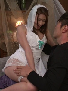 Mona Takei - Mona Takei fucked in her wedding day by a stranger  - Screenshot 8