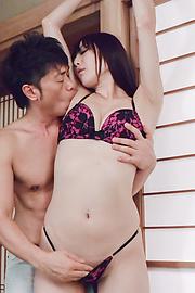 Nanami Hirose - Superb Asian blowjob by insolent Nanami Hirose - Picture 2