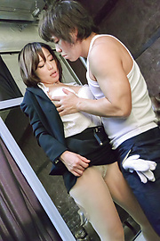 Shiona Suzumori - Japanese creampie to end babe's crazy porn special - Picture 8