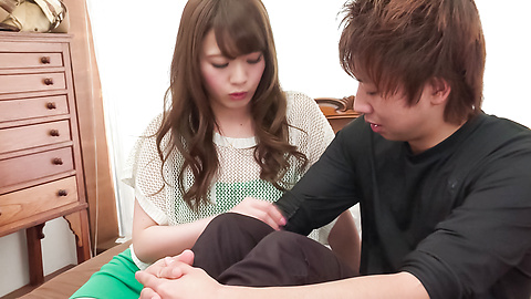 Eri Hosaka - Cum in mouth after special Asian blow jobs - Picture 4