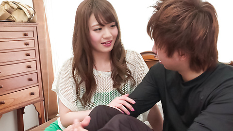 Eri Hosaka - Cum in mouth after special Asian blow jobs - Picture 5