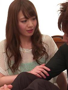 Eri Hosaka - Cum in mouth after special Asian blow jobs - Screenshot 2