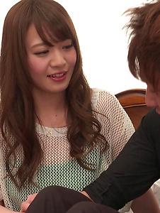 Eri Hosaka - Cum in mouth after special Asian blow jobs - Screenshot 3