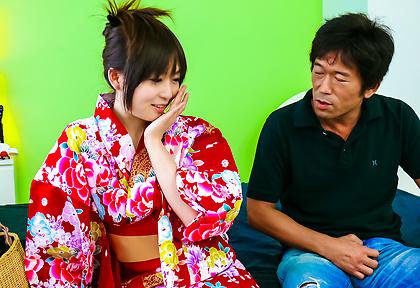 Creampied japanese av star Nozomi Hazuki fucked