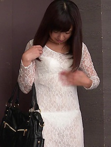 Yui Shimazaki - Amateur Asian teen finger fucked in serious modes  - Screenshot 3