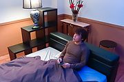 Cocolo - Redhead amazes with a sloppy Japanese blowjob  - Picture 1