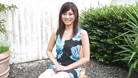 Ema Kato - Amateur teen sucks cock in outdoor on cam - Picture 7