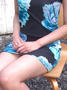 Ema Kato - Amateur teen sucks cock in outdoor on cam - Screenshot 4