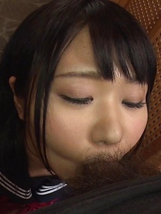 Nozomi Momoki - Real Asian blowjob in POV with sexy Nozomi Momoki - Screenshot 4