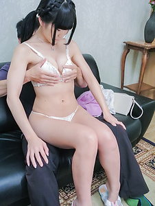Nako Nishino-Nako Nishino fabulous Asian blow job and handjob  Picture 4