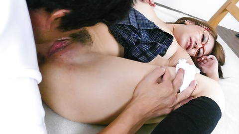 Mariru Amamiya - Teen asian blowjobs and creampies with Mariru Amamiya - Picture 7
