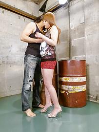 Rinka Aiuchi - Curvy MILF Rinka Aiuchi rides his cock for an asian creampie - Picture 1