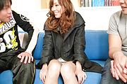 Big asian tits on Megu Kamijo get jizzed on Photo 12
