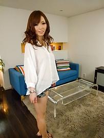 Megu Kamijo - Megu Kamijo gets asian cumshots on her big boobs - Picture 10
