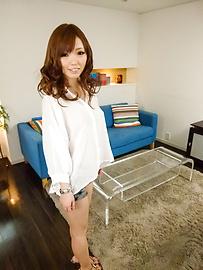 Megu Kamijo - Megu Kamijo gets asian cumshots on her big boobs - Picture 11