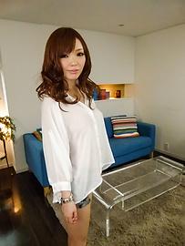 Megu Kamijo - Megu Kamijo gets asian cumshots on her big boobs - Picture 8