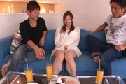 Teen av girl Marin Omi loves to be group fucked Photo 5