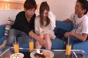 Teen av girl Marin Omi loves to be group fucked Photo 6