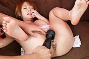 Sana Anzyu having teen asian group sex with a creampie Photo 7