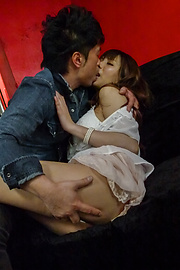 Natsuki Shino - Big titted MILF Natsuki Shino fucked after an asian blow job - Picture 2