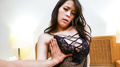 Big titsKyouko Maki cock sucking in hot pov show