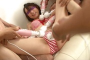 Ravishing sensations for babe's hairy Asian vagina  Photo 3
