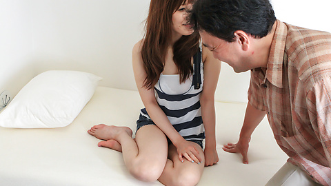 Kaede Kyomoto - Kaede Kyomoto gets him to fuck her after a japanese blowjob - Picture 2