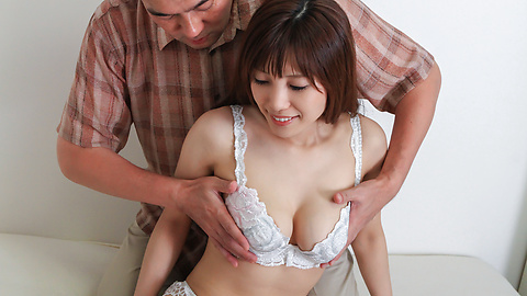 Kaede Kyomoto - Kaede Kyomoto gets him to fuck her after a japanese blowjob - Picture 6