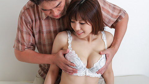Kaede Kyomoto - Kaede Kyomoto gets him to fuck her after a japanese blowjob - Picture 7