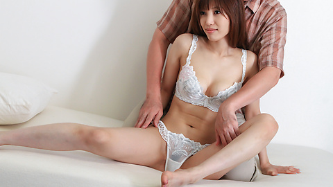 Kaede Kyomoto - Kaede Kyomoto gets him to fuck her after a japanese blowjob - Picture 8
