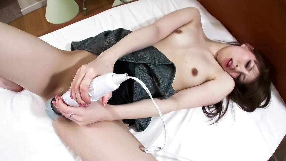 Asian amateur sex tape with lovely Yuu Sakura