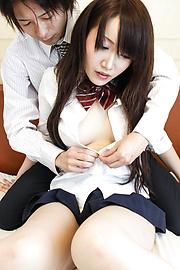 Shizuku Morino - Shizuku โมริโนะได้รับหีสวยครีม -  11 รูปภาพ