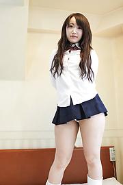 Shizuku Morino - Shizuku โมริโนะได้รับหีสวยครีม -  1 รูปภาพ