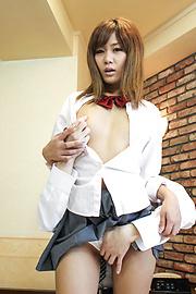 Nozomi Kahara - Nozomi คาฮาระฮาร์ดคอร์ปฏิบัติการและครีม หี -  8 รูปภาพ