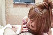 Sexy MILF Minami knows how to suck guys off Photo 6